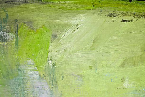 abstrakt gemalte green-art-hintergrund. - acrylbilder modern stock-fotos und bilder
