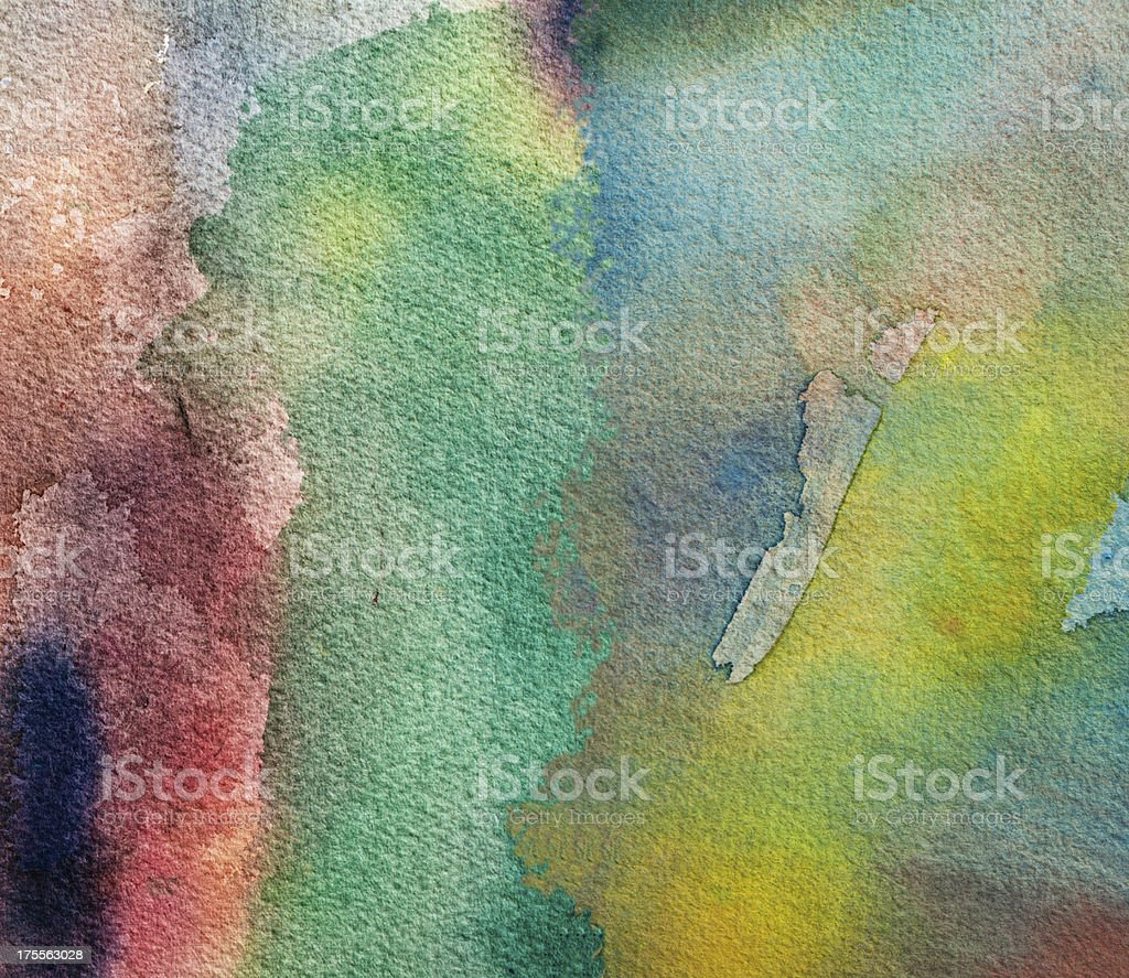 Abstract painted green art backgrounds. royalty-free stock photo