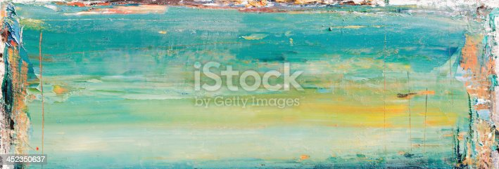 istock Abstract painted green art backgrounds. 452350637