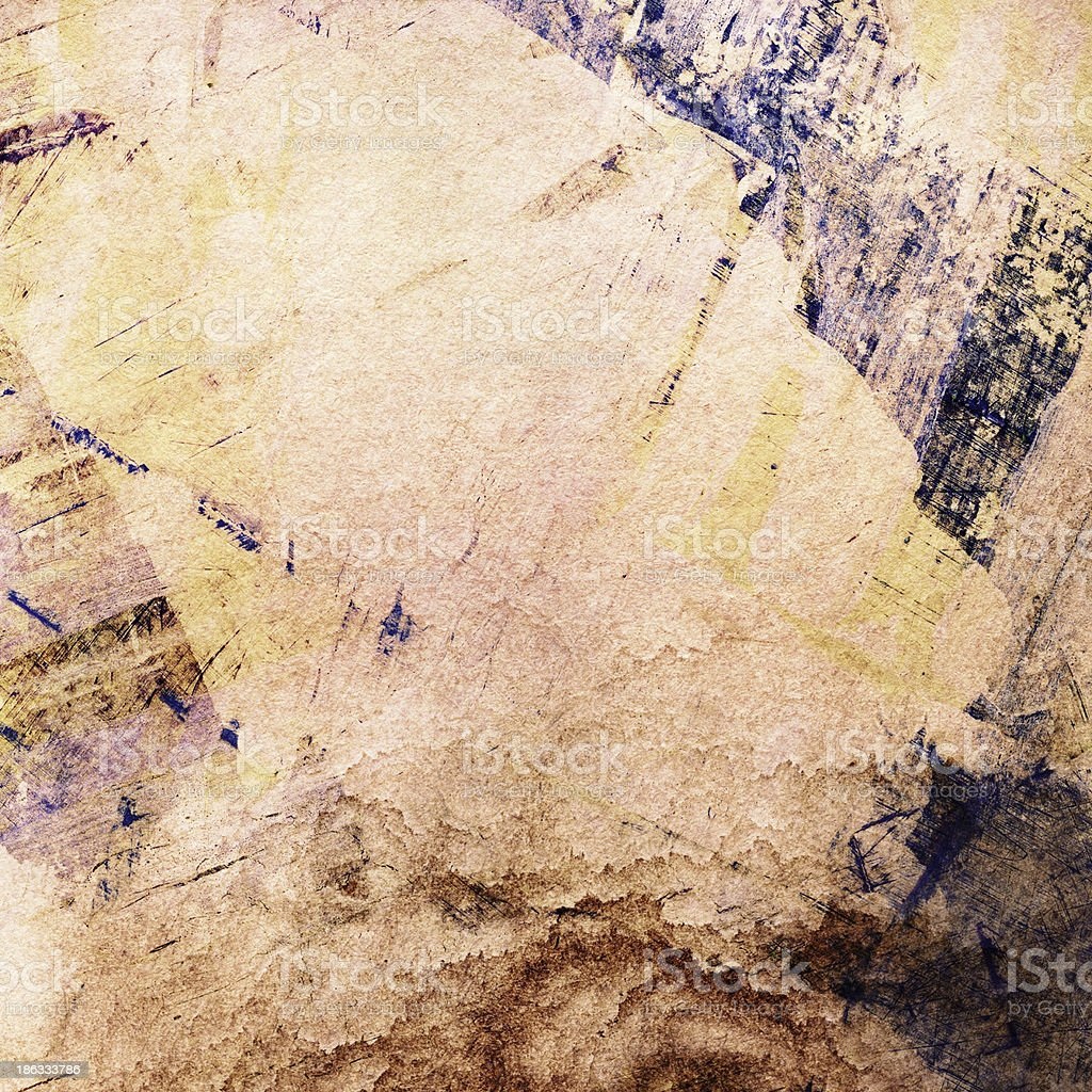 abstract painted grunge collage backgrund royalty-free stock photo