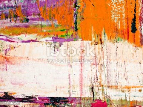 171137832istockphoto Abstract painted orange art backgrounds. 171137782