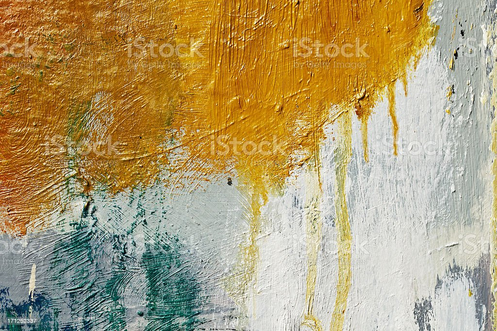 Abstract painted  orangeart backgrounds royalty-free stock photo