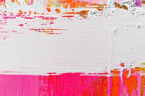 Photo libre de droit de Peint Abstrait Violet Et Blanc Art Arrièreplans banque d'images et plus d'images libres de droit de Abstrait