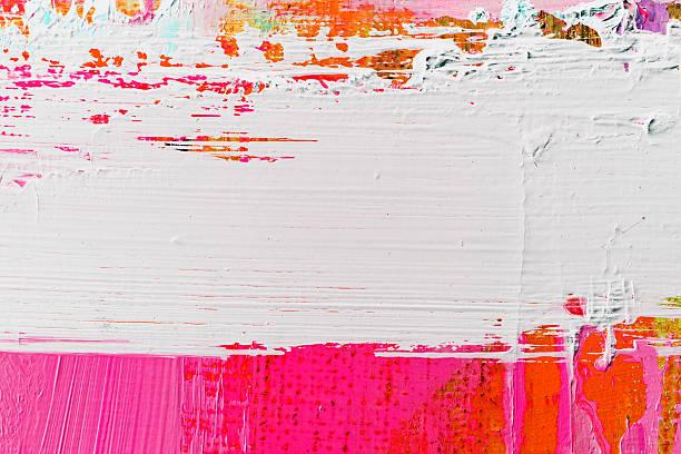 abstract painted  purple and white art backgrounds. - yağlı boya resim stok fotoğraflar ve resimler