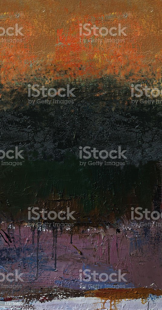 Abstract painted red and black art backgrounds. royalty-free stock photo