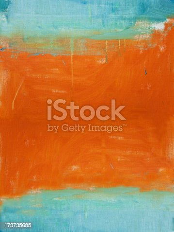 istock Abstract painted red  and green art backgrounds. 173735685