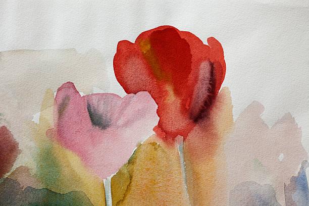 Abstrakte Rote und Rosa art Hintergründe. – Foto