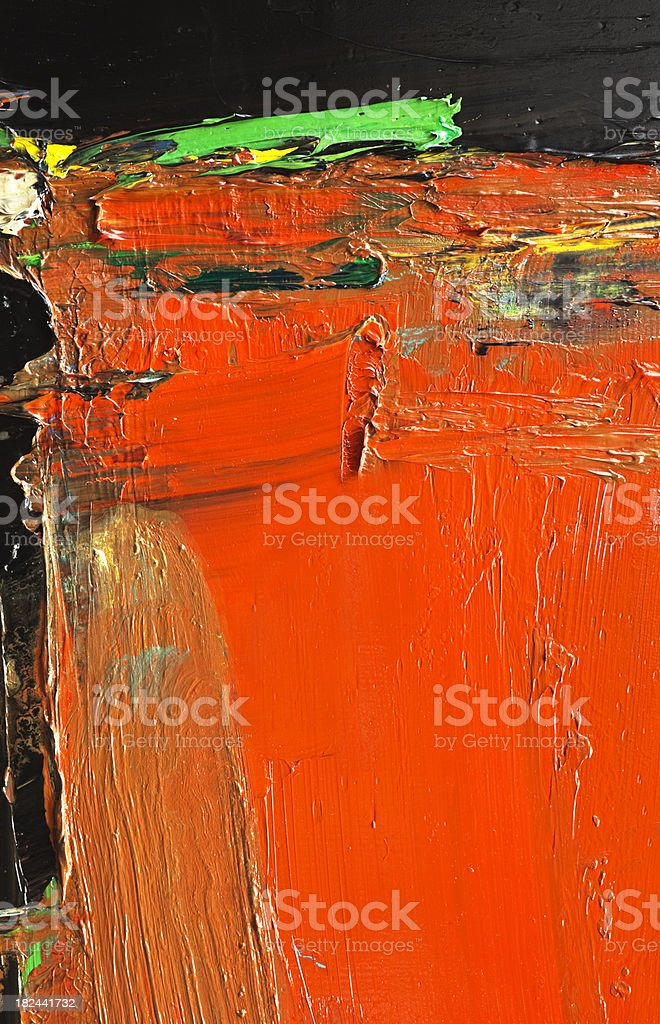 Abstract painted red art backgrounds. royalty-free stock photo