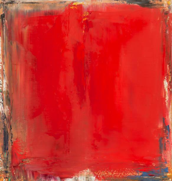 abstrakte rote art hintergründe. - acrylbilder modern stock-fotos und bilder