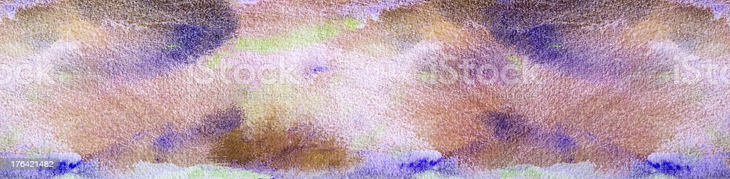 Abstract painted violet and blue art backgrounds. royalty-free stock photo