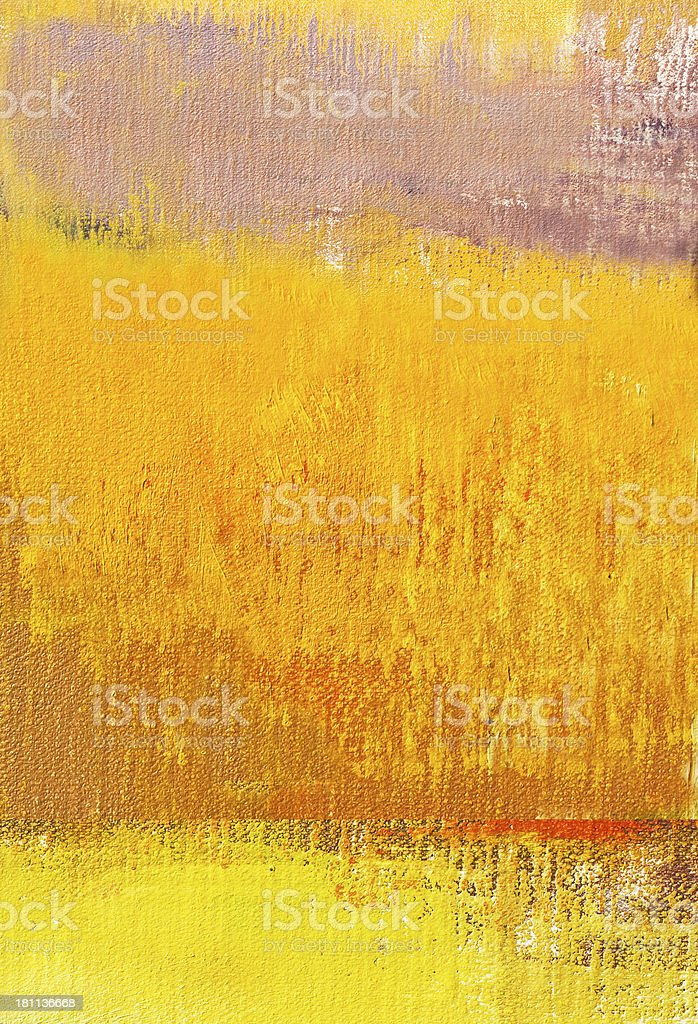 Abstract painted yellow  and orange  art backgrounds. royalty-free stock photo