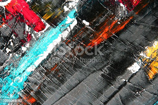 931131702istockphoto Abstract painting as background 1095049160