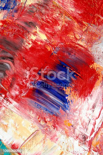 931131702istockphoto Abstract painting as background 1095049260