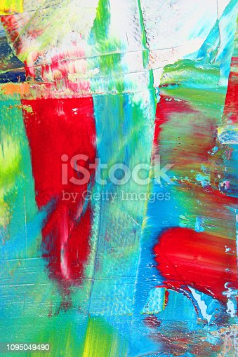 931131702istockphoto Abstract painting as background 1095049490
