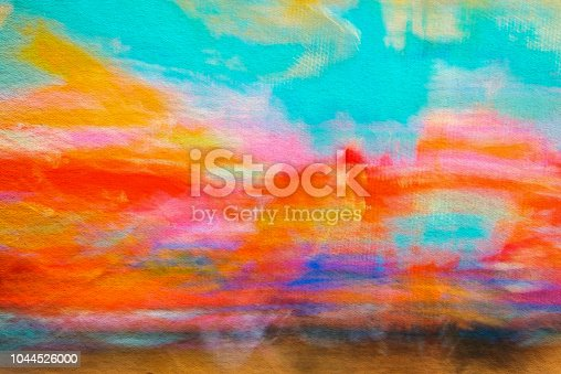 887755698istockphoto Abstract Painting Colored Art Background 1044526000