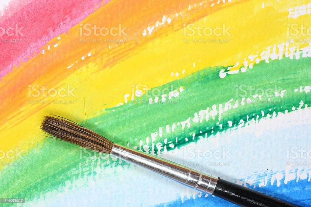 abstract  painting royalty-free stock photo