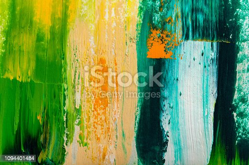 931131702istockphoto Abstract paintings. Hand drawn oil painting. Color texture. 1094401484