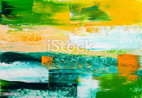 931131702istockphoto Abstract paintings. Hand drawn oil painting. Color texture. 1094401612