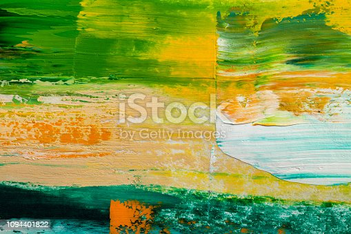 931131702istockphoto Abstract paintings. Hand drawn oil painting. Color texture. 1094401822