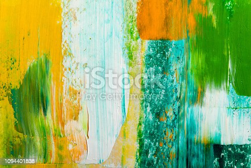 931131702istockphoto Abstract paintings. Hand drawn oil painting. Color texture. 1094401838
