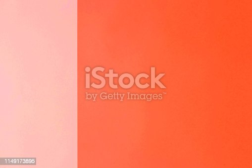 istock Abstract paper background coral and pink color 1149173895