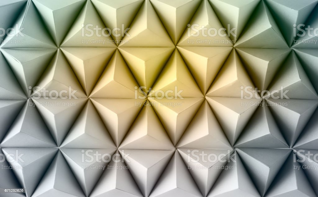 Abstract  paper poly stock photo
