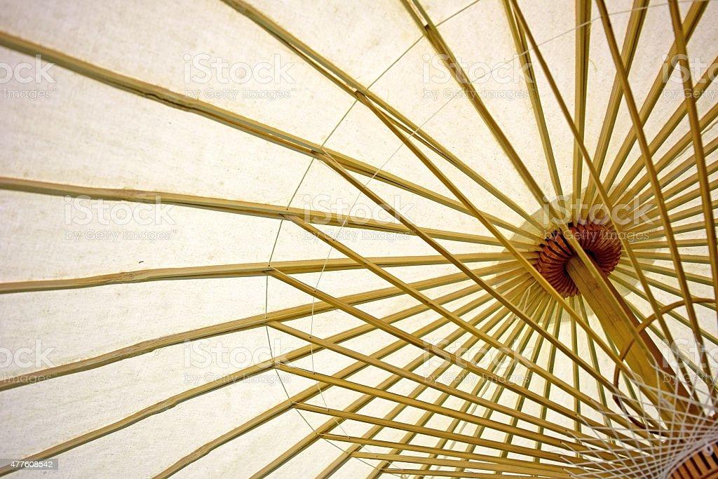 calidad estable nueva llegada más popular Abstract Paper Paraguas Y Sombrilla Bastidor De Bambú Foto ...