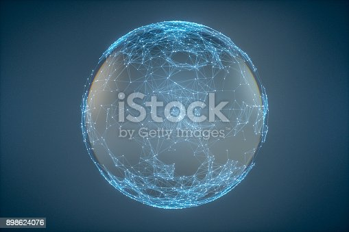 istock Abstract particle background 898624076