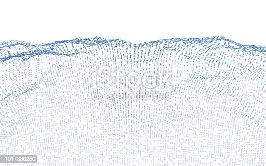 1017380290istockphoto Abstract particle landscape 1017380280