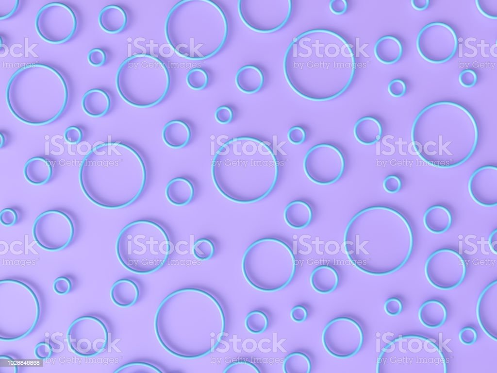 Abstract Pastel Circle Background stock photo