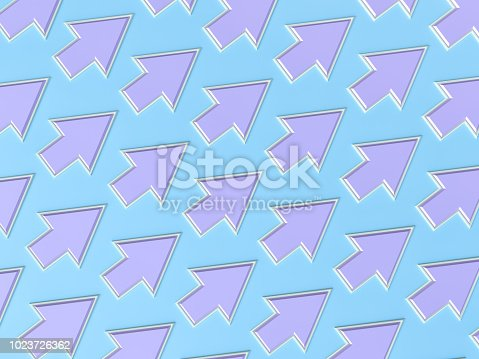 118386322 istock photo Abstract Pastel Colored Arrow Background 1023726362