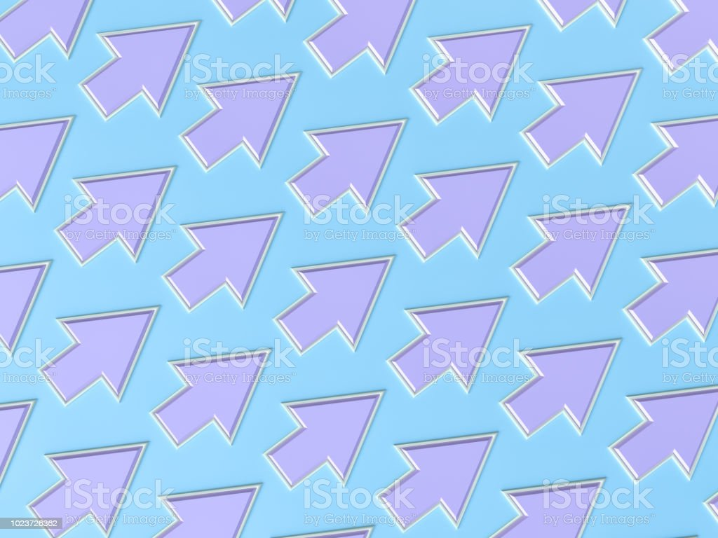 Abstract Pastel Colored Arrow Background stock photo