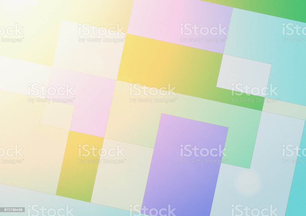 Abstract, pastel, geometrical  background stock photo