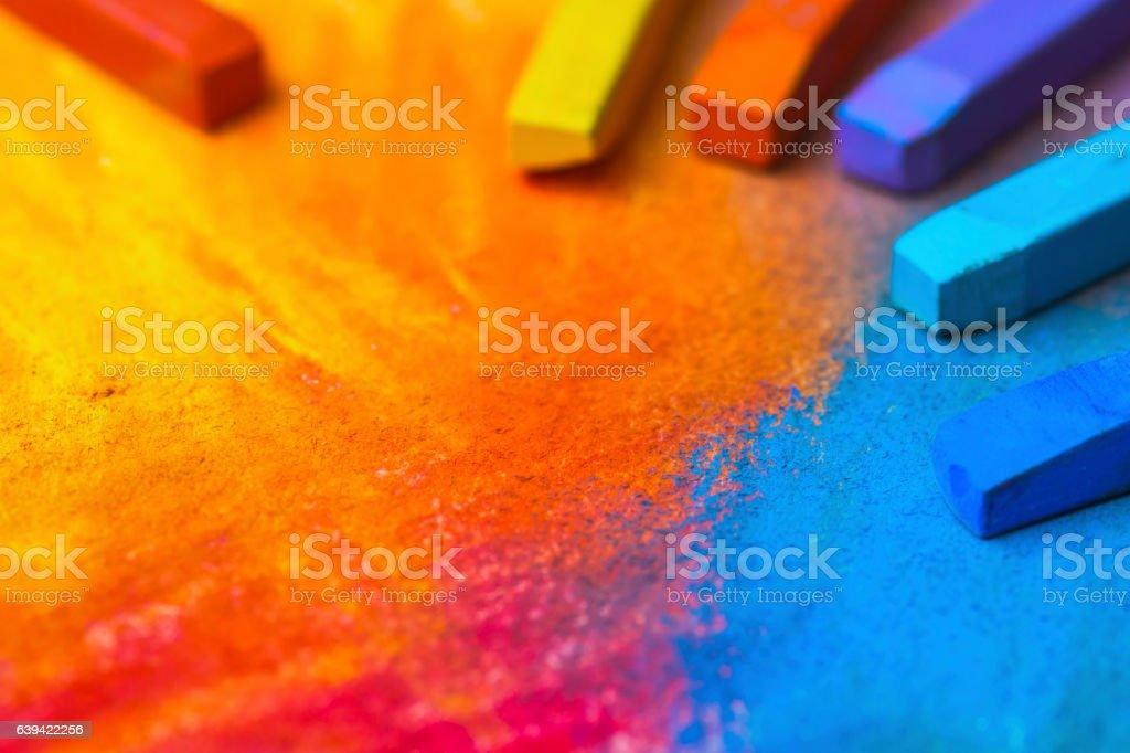 Pastel fond abstrait papier photo libre de droits