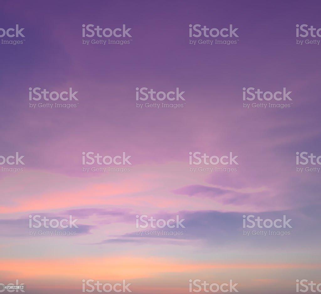Abstrakte Himmel Hintergrund in Pastellfarben  – Foto
