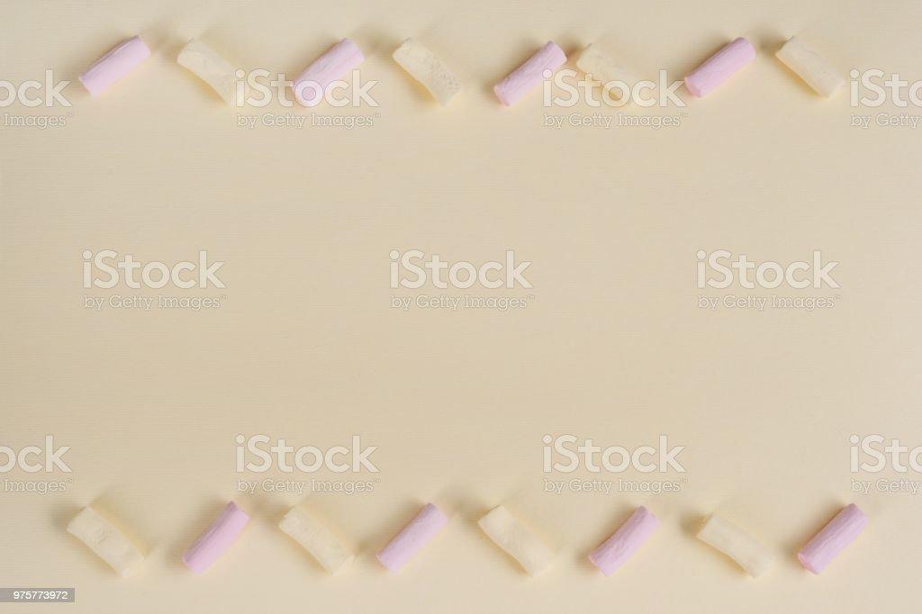 Abstrakte Pastell Textur mit Schaumzucker. Hintergrund. Textfreiraum - Lizenzfrei Bildhintergrund Stock-Foto