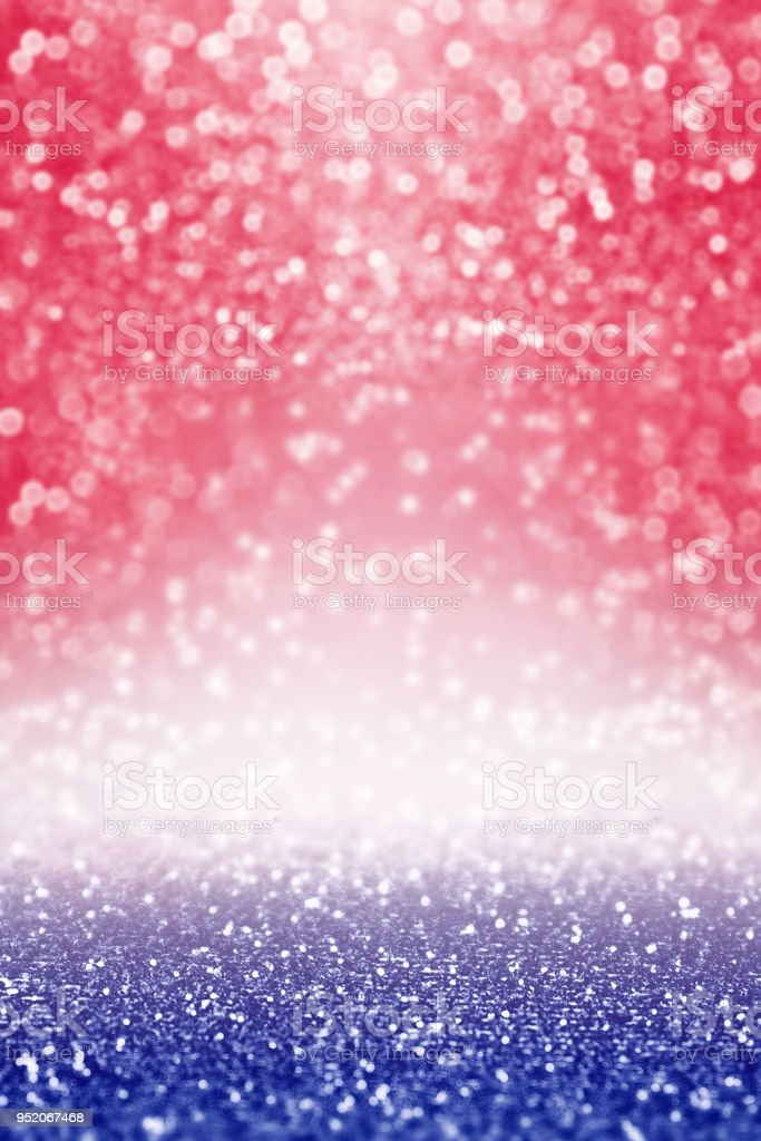 Abstract Patriotic Red White and Blue Background for Party stock photo