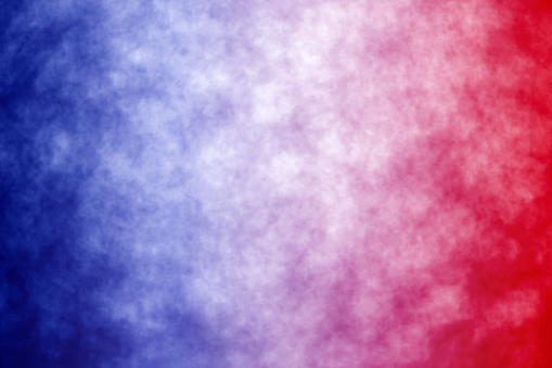 istock Abstract Patriotic Red White and Blue Background 957629748