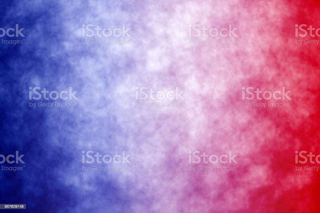 Abstract Patriotic Red White and Blue Background stock photo