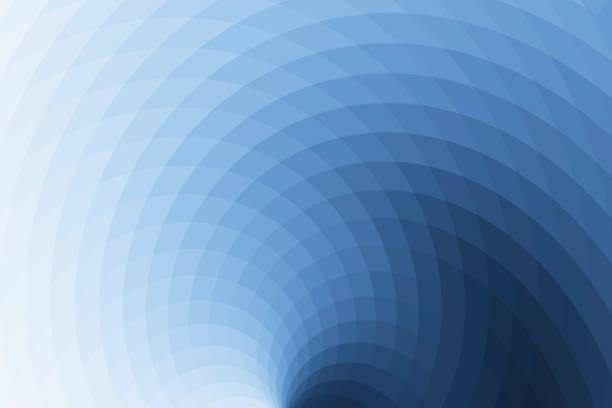 抽象的なパターンの背景青 ストックフォト