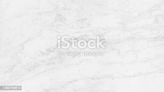istock Abstract Pattern of Natural White Marble Texture Background 1093793814