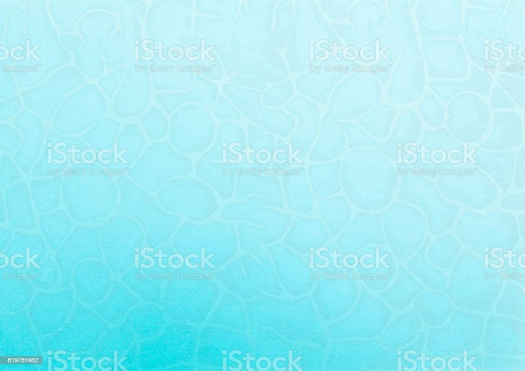 Abstract pattern onblue paper background stock photo