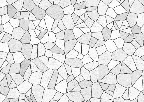 Abstract pattern tile wall