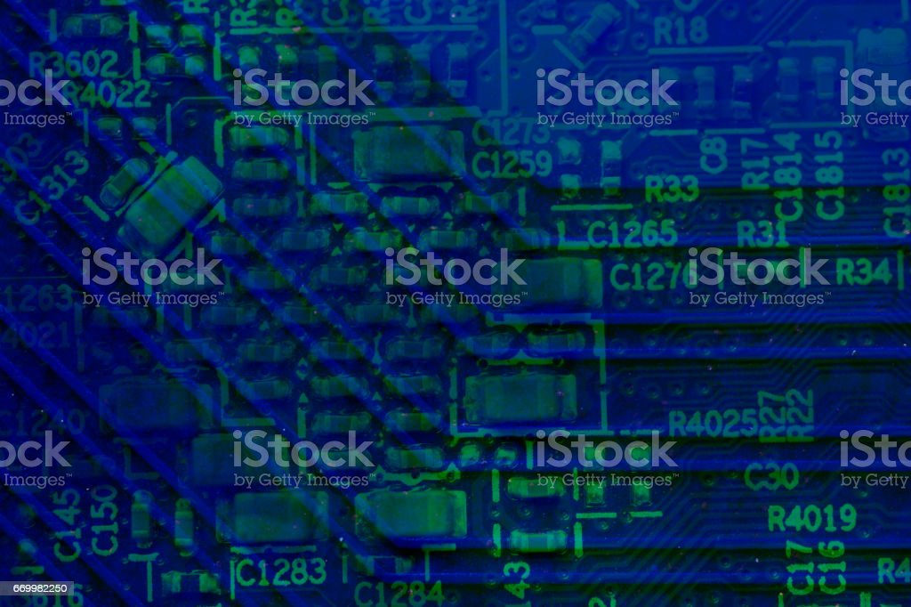 Abstract pcb background – Foto