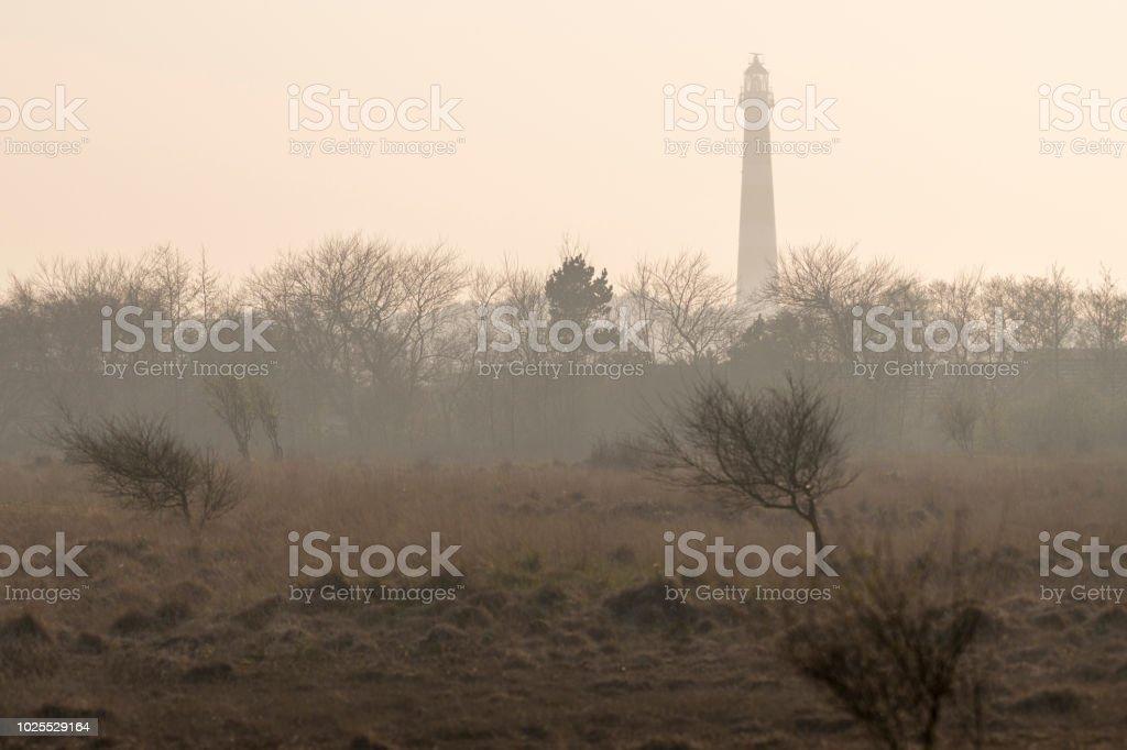 Abstrakte Foto des Leuchtturms der Insel Ameland – Foto