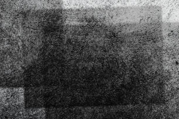 abstract fotokopie textuur achtergrond, kleur dubbele belichting, glitch - kopiëren stockfoto's en -beelden