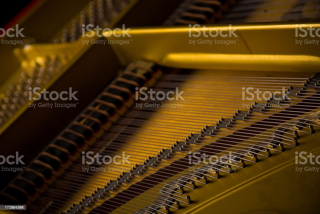 abstract image of a piano.
