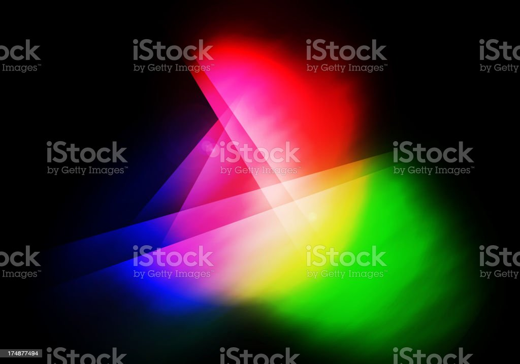 RGB abstract royalty-free stock photo
