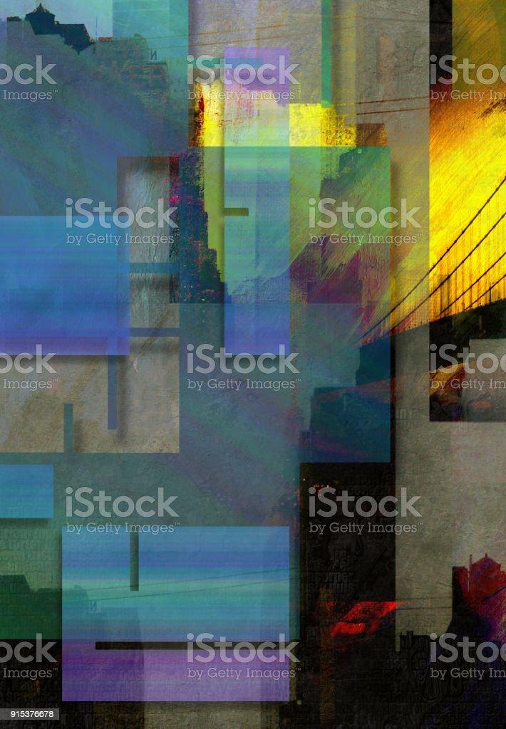 NYC Abstract stock photo