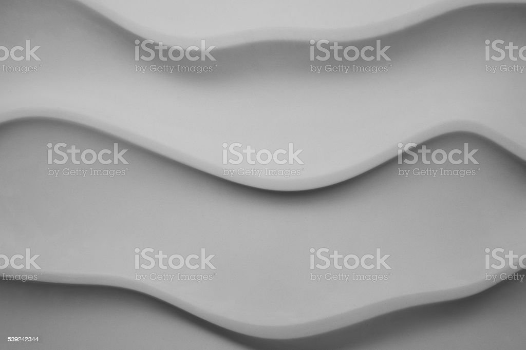Abstract picture panels made of gypsum with geometry pattern royalty-free stock photo